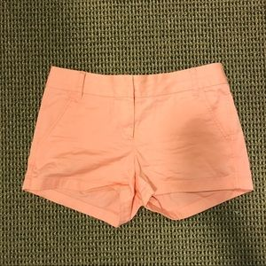 J. Crew Chino Shorts Hot Pink